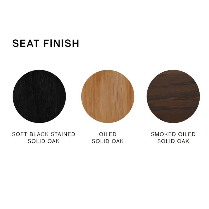 HAY Cornet barkruk - soft black powder coated steel frame