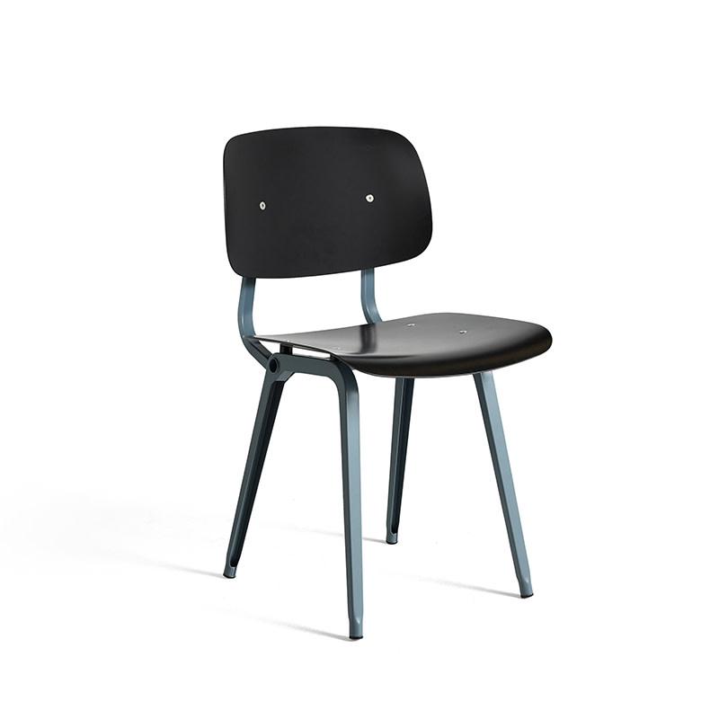 HAY Revolt chair - ocean powder coated steel frame