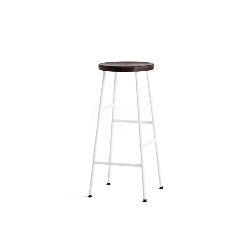 HAY Cornet barkruk - frame cream white steel