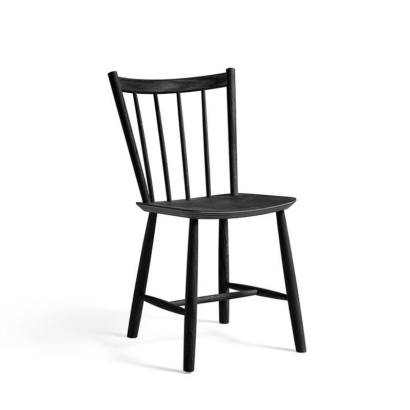 HAY J41 chair FAST TRACK (zwart)