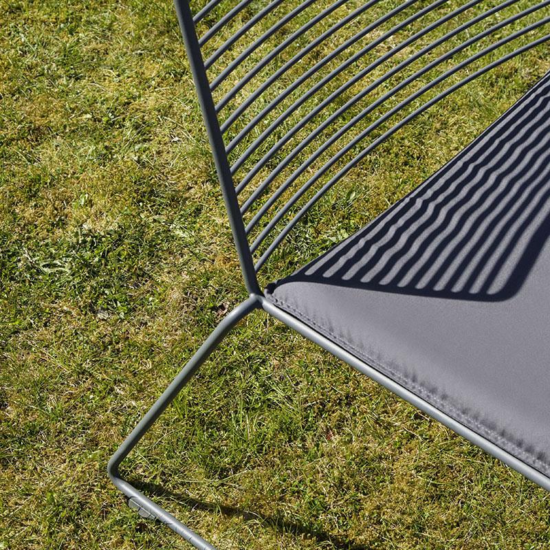 HAY Hee lounge chair FAST TRACK (black)
