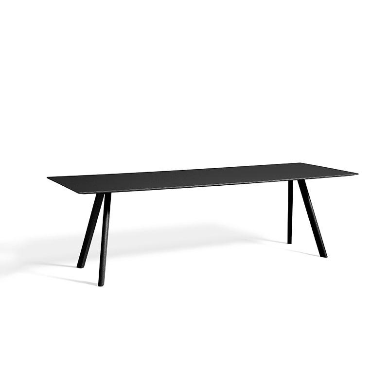 HAY CPH30 Copenhage Table - L250 cm - black oak frame