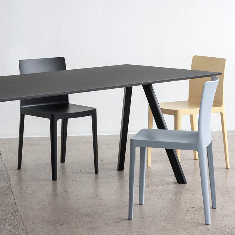 HAY CPH30 Copenhague Table - L300 cm - black oak frame