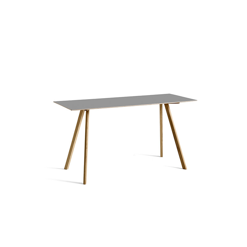HAY CPH30 High Table with Natural Oak frame L200 x H105 cm