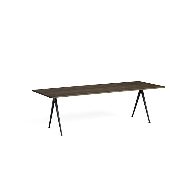 HAY Pyramid tafel 02 - zwart stalen frame