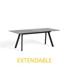 HAY CPH30 200 x 90 cm EXTENDABLE  - black oak frame