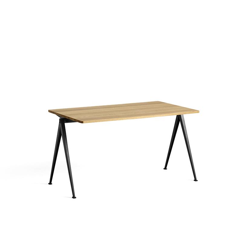 HAY Pyramid tafel 01 - zwart stalen frame