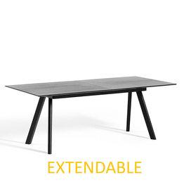HAY CPH30 250 x 90 cm EXTENDABLE  - black oak frame