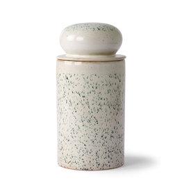 HKliving Storage jar Hail - Céramique