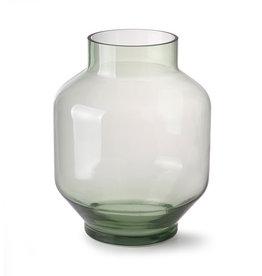 HKliving Vase en verre vert - Large