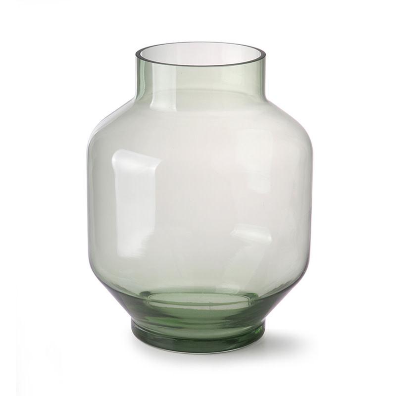 HKliving Glazen vaas groen - Large