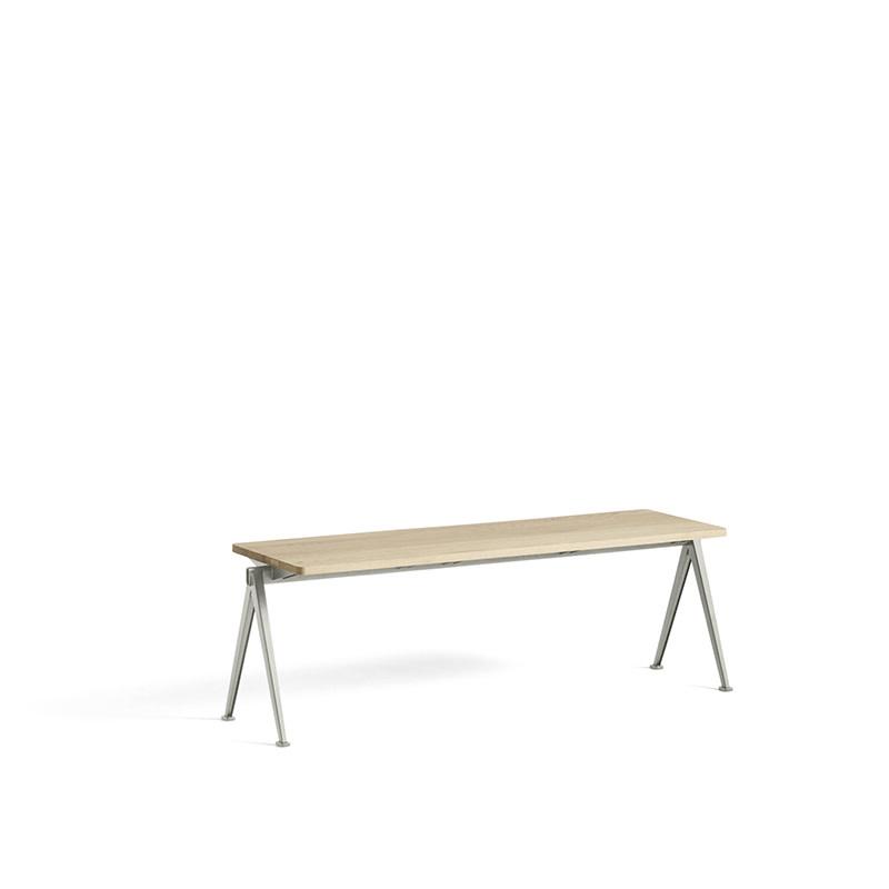 HAY Pyramid bench 11 - beige stalen frame