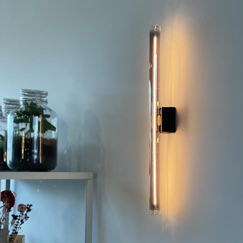 Segula Linear Wandlamp LED - Smokey Grey - L50cm