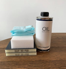 Bruunmunch Kit d'entretien - huile naturelle