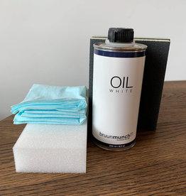 Bruunmunch Kit d'entretien - huile blanche