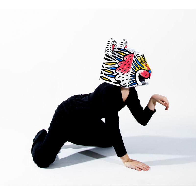OMY 3D masker - verschillende dieren