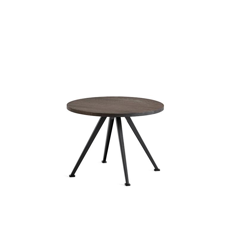 HAY Pyramid coffee table 51 - zwart stalen frame
