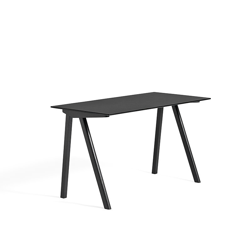 HAY CPH90 Copenhague desk - black oak frame
