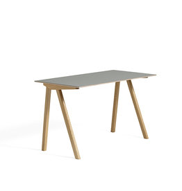 HAY CPH90 desk - natural oak frame