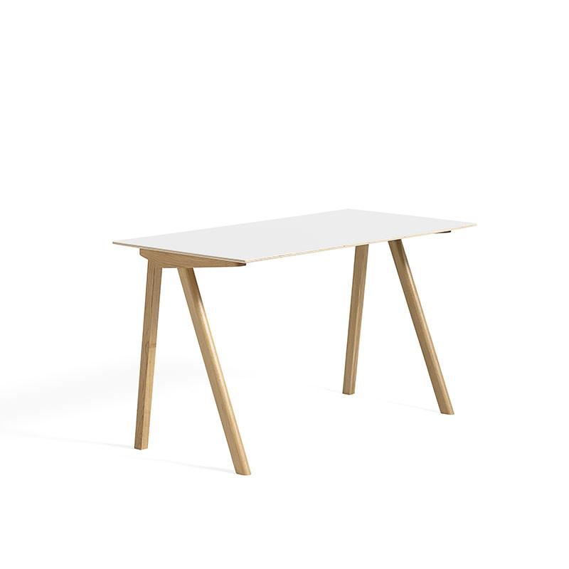 HAY CPH90 Copenhague desk - natural oak frame