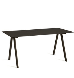 HAY CPH10 Desk - black oak frame