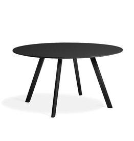 HAY CPH25 table - black oak frame