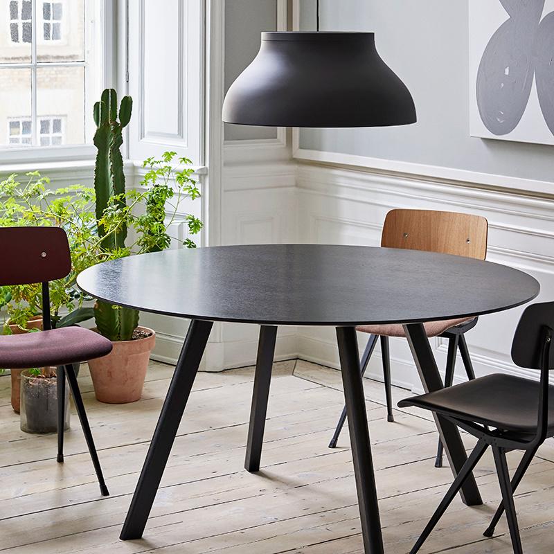 HAY CPH25 Copenhague table - black oak frame