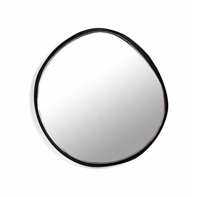 Serax Spiegel A zwart - Ø 21.5 cm