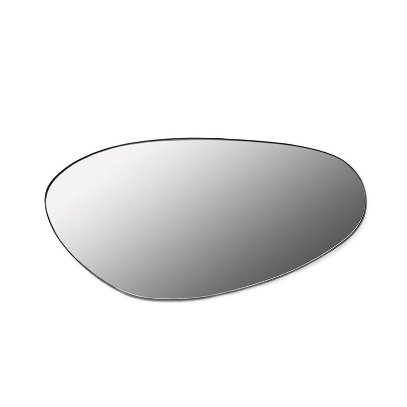 Serax Spiegel L zwart -  54.5 x 113 x 1.5 cm