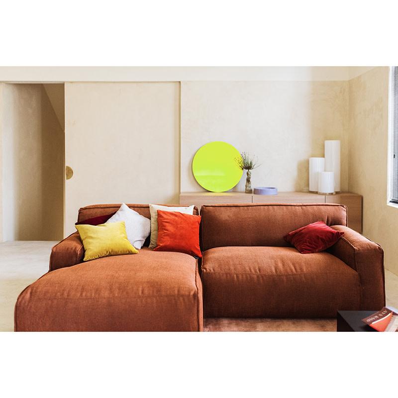 Fest Amsterdam Clay sofa - Longchair small arm L + 1.5-seat arm R - Silent 126 Copper