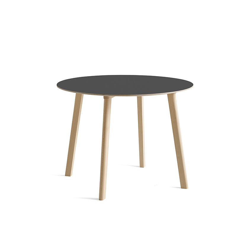 HAY CPH DEUX 220 table - untreated beech frame