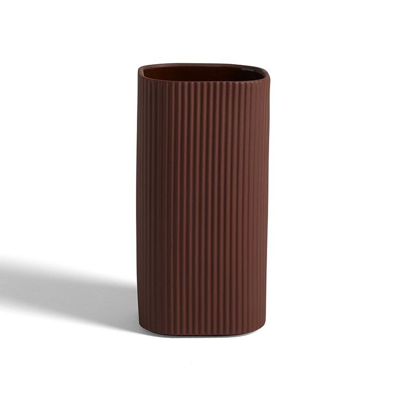 HAY Facade Pot - Vaas terracotta