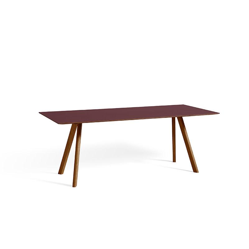 HAY CPH30 Copenhague Table L200 cm - Walnut frame