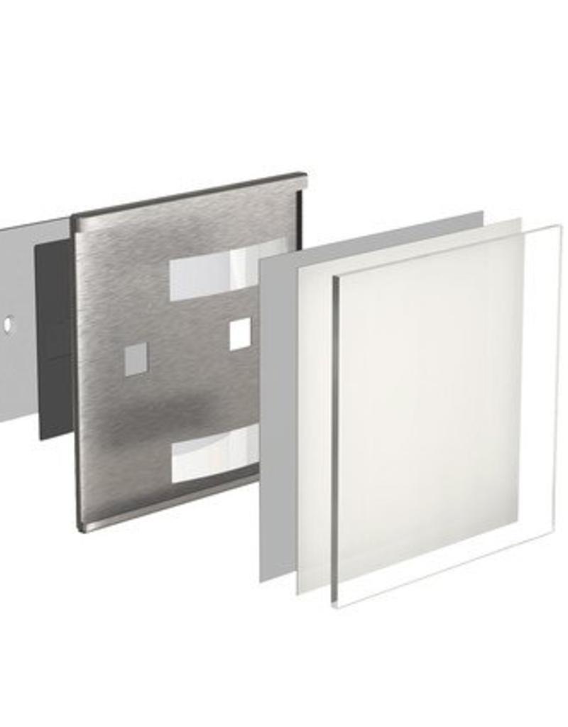 Fisso Wall Glassnox