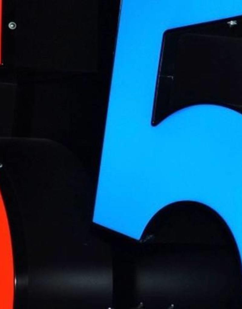 F-Trim für Buchstaben