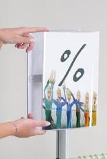 """Kunst&Dünger """"grow together"""" Soistes bag bodenständer für taschen"""