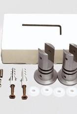 Fisso Steel Uniplus Paneelhalter für Wand / Decke