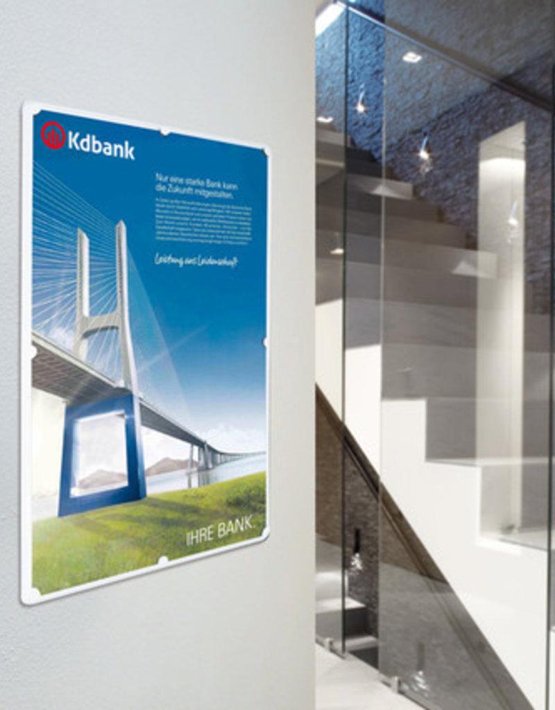"""Kunst&Dünger """"grow together"""" Linfor info-halter"""