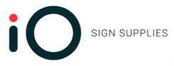 iO sign supplies