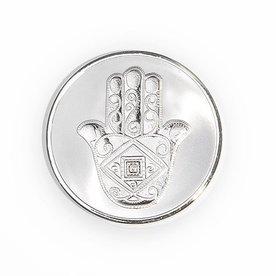Mi Moneda Mi-moneda munt large man-hand zilver