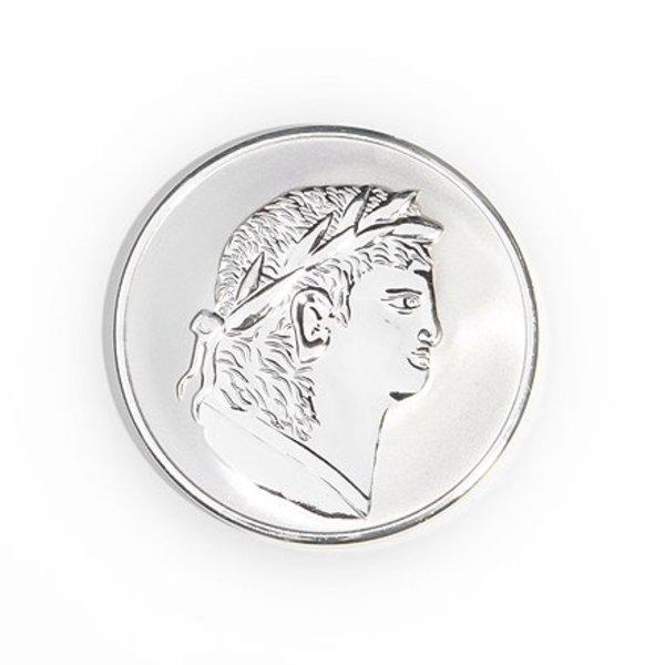 Mi Moneda Mi-moneda munt medium Roman-scarabee zilver