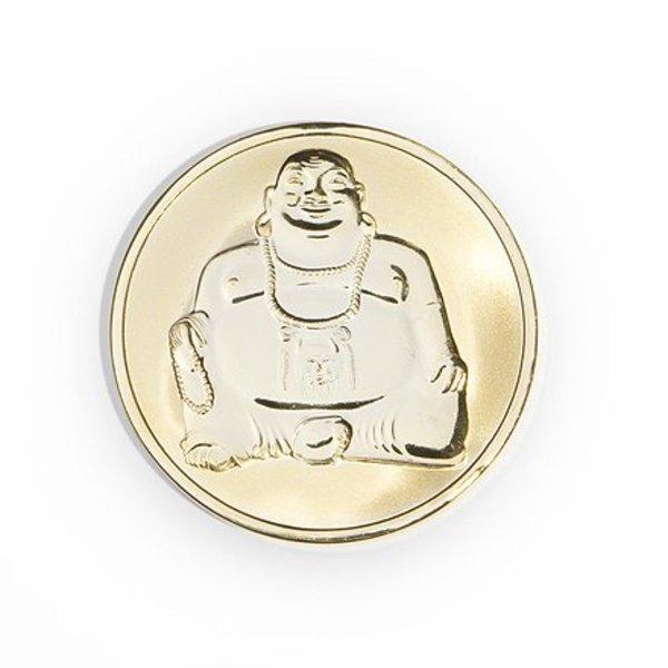 Mi Moneda Mi-moneda munt medium buddha-buddha gold