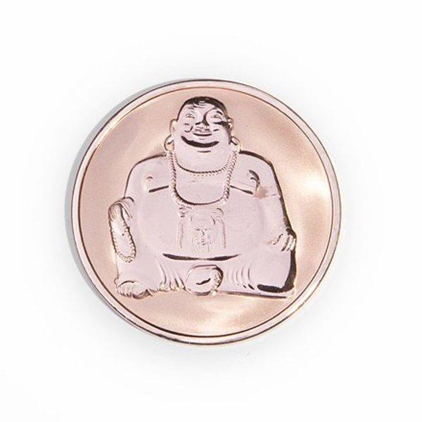 Mi Moneda Mi-moneda munt medium buddha-buddha rosé gold