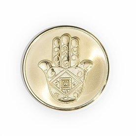 Mi Moneda Mi-moneda munt medium man-hand gold