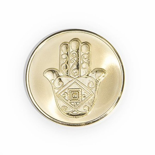 Mi Moneda Mi-moneda munt medium man-hand gold