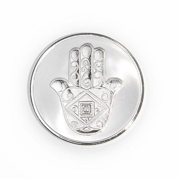 Mi Moneda Mi-moneda munt medium man-hand zilver