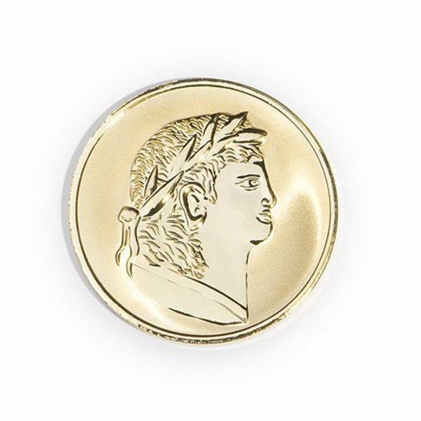 Mi Moneda Mi-moneda munt medium roman-scarabee gold