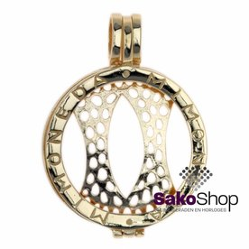 Mi Moneda Mi-moneda coin holder small gold shiny