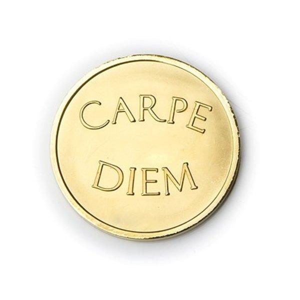 Mi Moneda Mi-moneda large munt carpe diem gold