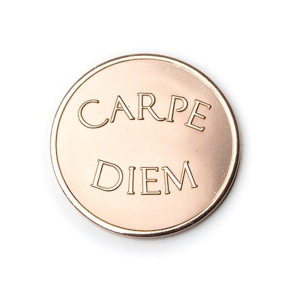 Mi Moneda Mi-moneda munt medium carpe diem rose gold